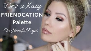 Download Dose of Colors DESI X KATY FRIENDCATION Palette Tutorial | Hooded Eye Friendly! Video