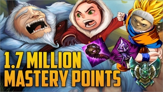 Download Platinum AP TOP LANE NUNU 1,700,000 MASTERY POINTS- Spectate Highest Mastery Points on Nunu Video