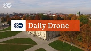 Download #DailyDrone: Glyptothek Munich Video