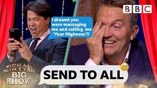 Download Bradley Walsh DESTROYED 😱 by Michael McIntyre's nightmare text - Send To All Video
