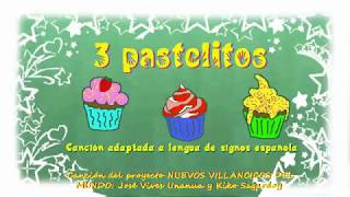 Download 3 pastelitos en lengua de signos española Video