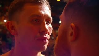 Download Canelo v Golovkin - Official weigh in and ICE COLD staredown Video