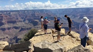 Download Views Along the ″Hermit Road″, Grand Canyon South Rim Video