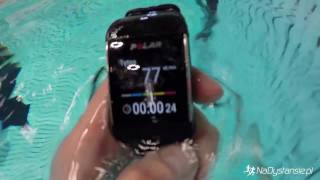 Download Polar M600 - test na basenie i pod prysznicem / underwater tests Video