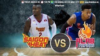 Download Saigon Heat vs. Alab Pilipinas | FULL GAME | 2016-2017 ASEAN Basketball League Video
