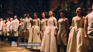Download Hip-hop and history blend for Broadway hit 'Hamilton' Video