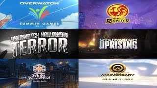 Download Overwatch: Event Trailers | Year One HD Video