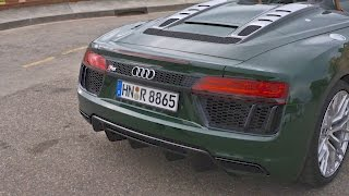 Download Test Drive 2017 AUDI R8 V10 Spyder Video