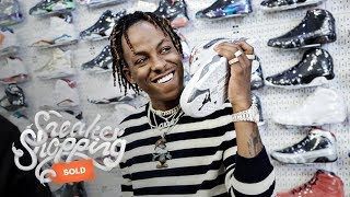 Download Rich The Kid Goes Sneaker Shopping With Complex Video