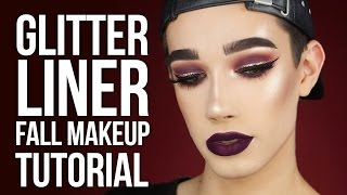 Download GLITTER LINER CRANBERRY FALL MAKEUP TUTORIAL Video