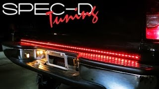 Download SPECDTUNING INSTALLATION VIDEO: UNIVERSAL TRUCK LED TAILGATE LIGHT BAR Video