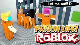 Download Prison Life with Gamer Chad - I only stole a HEART!! Let me out!! Prison Escape! - Roblox Roleplay Video