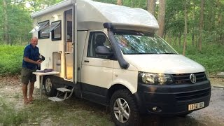Download SUPER COOL AMPHIBIOUS RV Woelcke Autark T5 Crosser Off Road 4x4 Campervan Motor Home Video