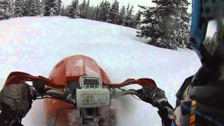 Download snowhawk vs timbersled deep powder Video