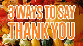 Download 3 Ways to Say Thank You in Czech Video