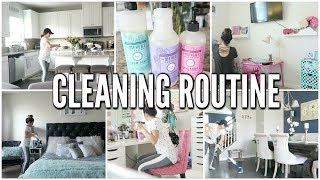 Download MY CLEANING ROUTINE   CLEANING MOTIVATION!! NEW HOUSE 2018 Video