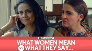 Download FilterCopy | What Women Mean Vs. What They Say | Ft. Gul Panag, Shruti Seth Video