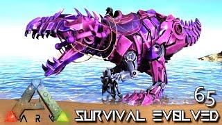 Download ARK: SURVIVAL EVOLVED - BABY TEK GIGANOTOSAURUS BREEDING GIGA !!! E65 (MODDED ARK EXTINCTION CORE) Video
