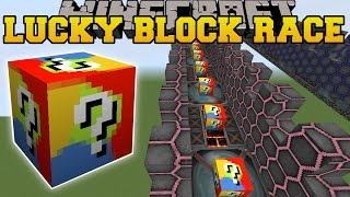 Download Minecraft: EXTREME MYSTERY LUCKY BLOCK RACE - Lucky Block Mod - Modded Mini-Game Video