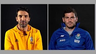 Download Juventus' Buffon and Porto's Casillas: Two Champions League legends in their own words Video
