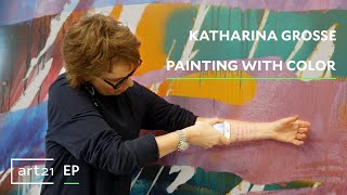 Download Katharina Grosse: Painting with Color | Art21 ″Extended Play″ Video