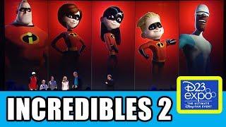Download INCREDIBLES 2 Cast Presentation At Disney D23 Expo Video