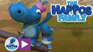 Download Party Happo and Baby Happo I Cartoon for Kids I The Happos Family Video
