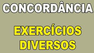 Download Concordância - Exercícios Comentados e Resolvidos Video