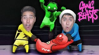 Download Fighting To The Death! - Gang Beasts Video
