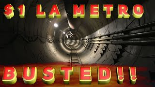Download Elon Musk promises $1 rides in LA transit tunnels: BUSTED! Video