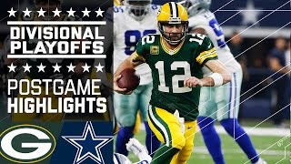 Download Packers vs. Cowboys | NFL Divisional Game Highlights Video