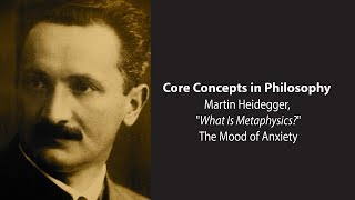 Download Martin Heidegger on the Mood of Anxiety - Philosophy Core Concepts Video