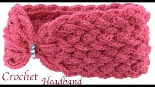 Download Diadema Mariposa trenzada en 3D tejida a Crochet paso a paso tejido tallermanualperu Video