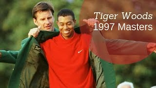 Download Tiger Woods Amazing Shots | 1997 Masters | Video