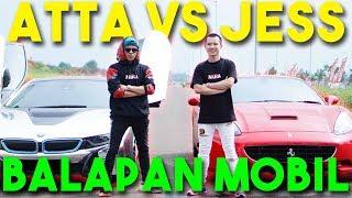 Download BALAP MOBIL ATTA VS JESS No Limit! i8 VS Ferrari 🔥 NGERI!! Video