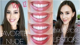 Download Favorite Drugstore Nude/Best Everyday Lipsticks + Lip Swatches Video