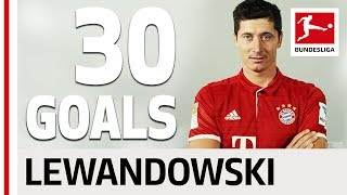 Download Robert Lewandowski - All his Goals 2016/2017 Season Video