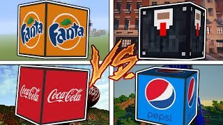 Download Minecraft 1V1V1V1 CRAZY COCA COLA VS FANTA VS PEPSI VS KINGSMAN!?| (Minecraft Modded Minigame) Video