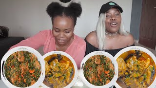 Download TRYING LOCAL SOUPS AND SWALLOWS IN LAGOS, NIGERIA Video