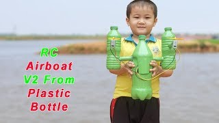 Download How to make a Air Boat from plastic bottle Video