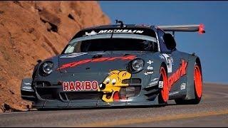 Download Porsche 911 GT3R // Romain Dumas Debut at Pikes Peak 2012 Video