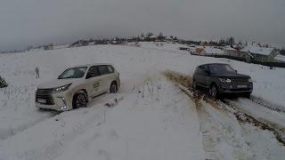 Download BWT LEXUS LX 570 против AcademeG Range Rover SV AUTOBIOGRAPHY Video