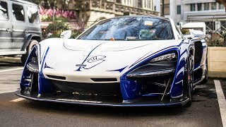 Download London Supercars Feb 2019: 2x Senna, Shmee150 Ford GT, Veyron SuperSport, 2x SVJ Video