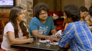 Download Santhosh tries to Impress Avika with a Party - Thanu Nenu Comedy Scene || Ram Mohan Video