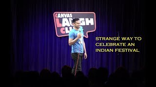 Download Strange Way to Celebrate an Indian Festival - Daniel Fernandes Stand-up Comedy Video
