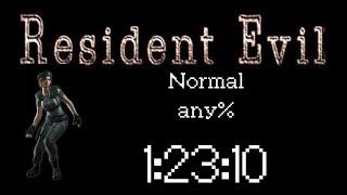 Download Resident Evil HD Remaster (PC 60FPS) Speedrun - Jill Normal any% - 1:23:10 Video
