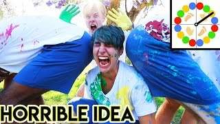 Download Messy Paint Twister in Public Video