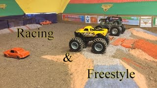 Download StopMotion MonsterJam: Indianapolis! Racing and Freestyle Video
