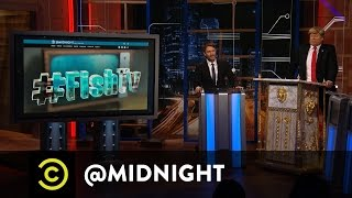 Download Donald Trump Presents #HashtagWars - #FishTV - @midnight with Chris Hardwick Video