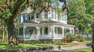 Download Unique Victorian Home in Fernandina Beach, Florida Video